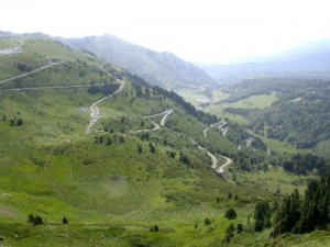La région Midi-Pyrénées et la chaîne des Pyrénées