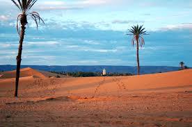 Aux portes du désert marocain