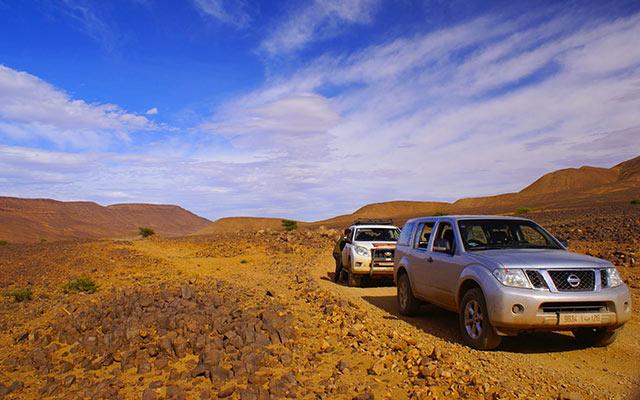 Raid en 4x4 au Maroc - Choisir son 4x4