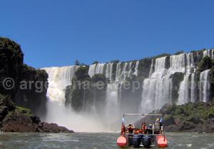 Lune de miel aux chutes d'Iguazú