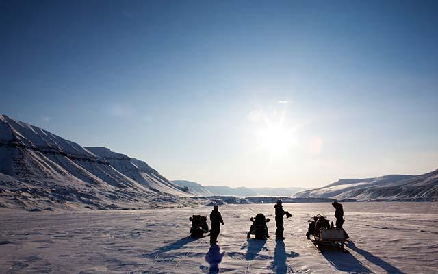 Voyage motoneige : la Laponie
