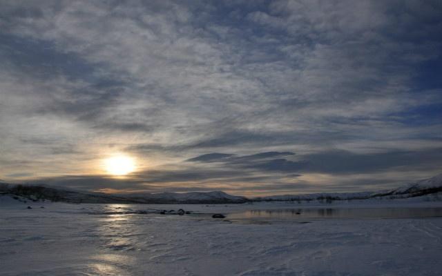 Week-end motoneige Laponie en famille