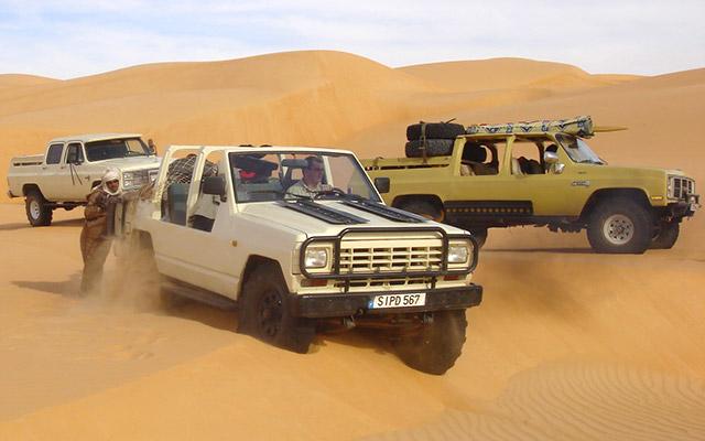 Raid 4x4 en Mauritanie