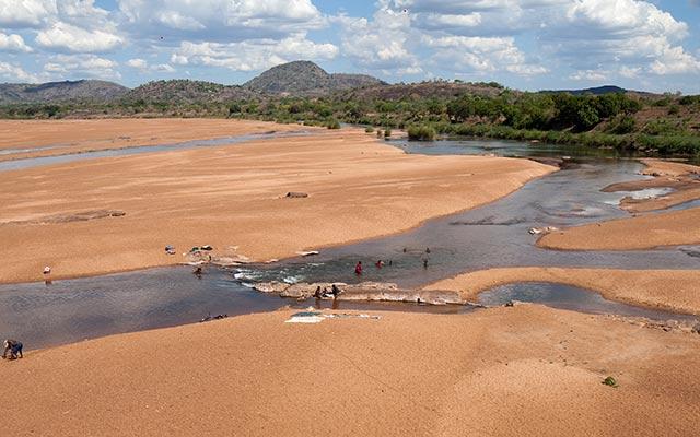 Raid 4x4 au Mozambique