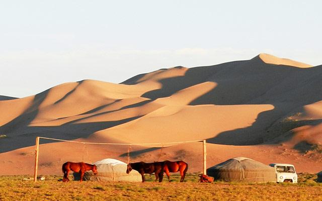 Raid 4x4 en Mongolie