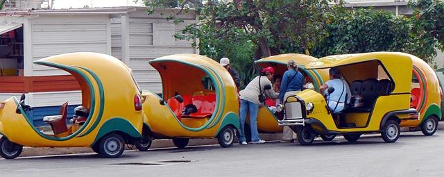 Les Cocotaxi de Cuba